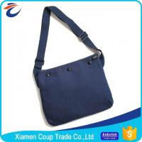 Buy cheap Multi Pockets Laptop Messenger Bags Canvas Sling Bag With A Tote Hand from wholesalers