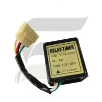Buy cheap 21N4-00762 Timer Relay Starter Relay R80-7 R210LC-7 R215LC-7 Hyundai Excavator Spare Parts product