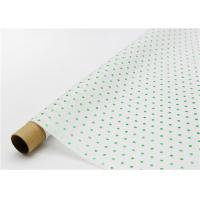 Buy cheap Fade Resistant Hot Stamping Tissue Paper 17gsm Green Dot For Bouquet from wholesalers