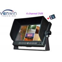 Buy cheap Car 7 inches 4CH TFT LCD Monitor DVR recording Quad Image With support 32G from wholesalers