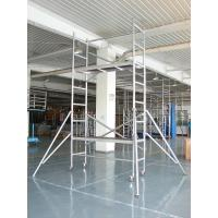 Buy cheap OEM Light Weight Foldable Scaffolding for Maintenance Aluminum alloy Scaffold from wholesalers
