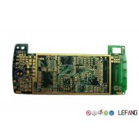 Buy cheap Halogen Free 6 Layer High Speed PCB , Industrial Circuit Board ENIG Surface Treatment product
