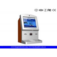 Buy cheap Customized Stylish Wallmount Kiosk With Camera , Thermal Receipt Printer , Cash Acceptor product