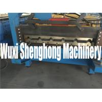 Buy cheap Small Corrugated Sheet Metal Roof  Roll Forming Machine / Roof Panel Making Machine product