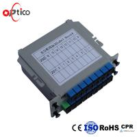 Buy cheap Compact LGX Type 1x16 PLC Splitter , Outdoor GPON System Fiber Optic Cable Splitter from wholesalers