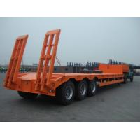 Buy cheap Rear Loading Low Bed Container Trailer 3 Or 4 Axles For Truck Transportation from wholesalers
