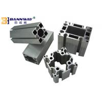 Buy cheap Industrial V / T Slot Aluminium Profile , Anodized Aluminum T Channel Extrusion from wholesalers