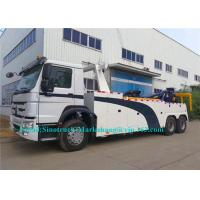 Buy cheap Durable Hydraulic Semi Truck Wrecker , 25-30 Ton City Heavy Recovery Truck from wholesalers