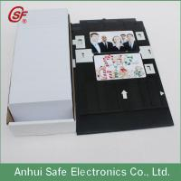 Buy cheap inkjet pvc card from wholesalers