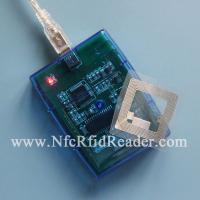 Buy cheap Contactless Smart NFC RFID Reader , 13.56MHZ ISO14443A Desktop Reader from wholesalers