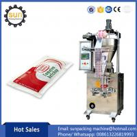 Buy cheap Automatic Vertical shampoo packaging machinery Shampoo packing machine from wholesalers