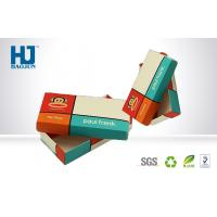 Buy cheap Advertising Superior Cardboard Packing Boxes Custom Made For Chocolate from wholesalers