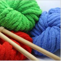 Buy cheap China supplier OEKO TEX 100% polyester chenille yarn for hand knitting blanket from wholesalers