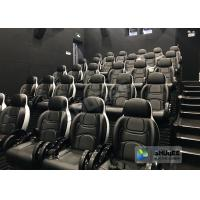 Buy cheap Fun And Exciting Electric 5D Cinema System , Solid & Stable Movie Theater Chairs product