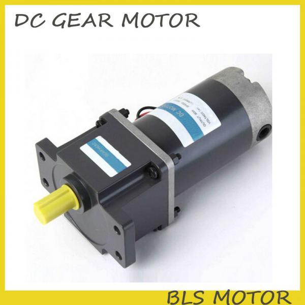 250w 24v 12v 90v dc brushed gear motor mico dc motor