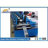 Buy cheap Full Automatic Strut Channel Roll Forming Machine , Solar Support Channel Roll Forming Machine from wholesalers