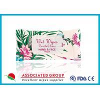 Flavored Feminine Wipes , Feminine Antibacterial Wipes Resealable 10Pcs