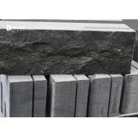 Buy cheap Chiselled Surface Natural Limestone Tiles Wall Cladding Color Remain Stable product