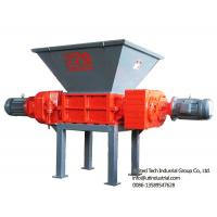 Buy cheap customized compact mutifunctional double shaft shredder as solid waste crusher in the environmetal reuse recycle from wholesalers