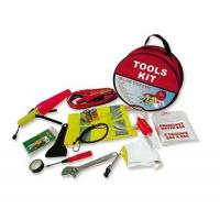 Buy cheap 16 pcs auto emergency kit ,with gloves,wrench,siphon pump,tyre pressure gauge ,scraper from wholesalers