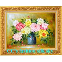 Buy cheap 2014 new style,silk embroidery,Needlework,DIY DMC Cross stitch,Sets For Embroidery kits,fl from wholesalers