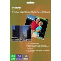 Buy cheap Premium Inkjet Glossy RC Photo Paper 260gsm from wholesalers