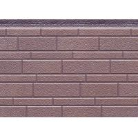 Buy cheap 380mm Width Decorative PU Sandwich Wall Panel For Exterior , 16mm Thickness from wholesalers