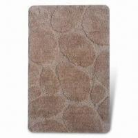 Buy cheap Bathroom Rug with 1.2m Machine Width, 1.5cm Pile Height and Anti-slipped Latex Backing from wholesalers
