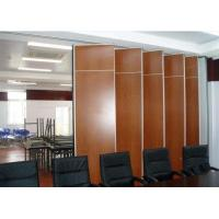 Buy cheap Operable Removable Sliding Partition Wall , Modern Office Room Dividers from wholesalers