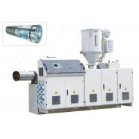 Buy cheap Precision Temperature Control PPR PC Plastic Extrusion Equipment With Single Screw from wholesalers