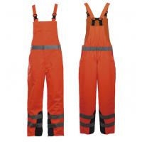 Buy cheap Polyester oxford fabric safety workwear Overalls Or Coveralls EN ISO 20471 / ANSI/ISEA product