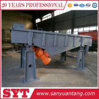 Buy cheap China best price Linear vibrating screen / vibrating sieve machine / vibrating filter machine from wholesalers