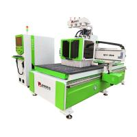 Buy cheap 9 KW Air Cooling Spindle CNC Wood Cutting Machine 1300*2500*200mm AC380V/50HZ product