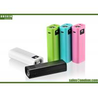 Buy cheap Portable USB 5V / 1A 2600mAh 18650 Power Bank With LED Flash Light from wholesalers