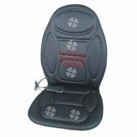 Buy cheap 12V DC Vibrating Heated Chair Cushion for Vehicle, Various Colors are Available from wholesalers