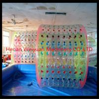 Buy cheap new type funny kid walking water balls inflatable water roller with pvc/tpu material from wholesalers