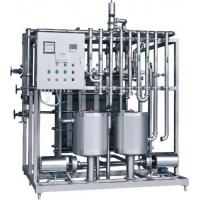 Buy cheap Low Fouling Rate Plate Heat Exchanger Pasteurizer / Milk Pasteurization Machine from wholesalers