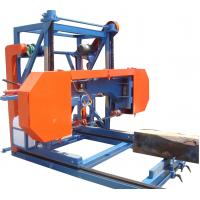 Buy cheap Horizontal Bandsaw Sawmill, Diesel / Electrical type Sawmill for sale from wholesalers