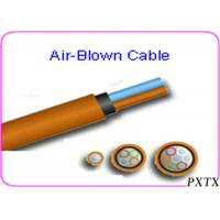 Buy cheap High Density 24 - 144 Core Air Blown Fiber Optic Cable For Outdoor FTTH from wholesalers
