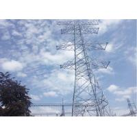 Buy cheap High Wind Speed High Voltage Power Tower Self Supporting Lattice Tower from wholesalers