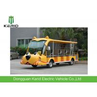 Buy cheap Customized Cartoon Design 14 Seats Tourist Sightseeing Cart Electric Tour Bus For Parks from wholesalers