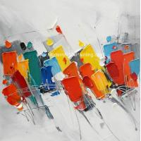 Buy cheap Colorful Abstract Oil On Canvas Paintings Modern Art Acrylic Paintings from wholesalers