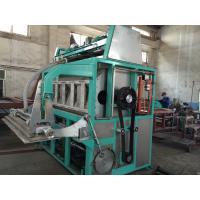 5000pcs / Hour Egg Tray Moulding Machine Large Capacity Easy Maintenance