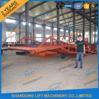 Buy cheap 8T Container Loading Ramps / Industrial Loading Ramps 0.9m - 1.8m Lifting height from wholesalers