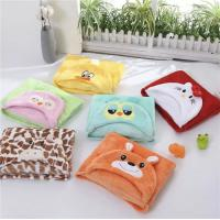 Buy cheap Bright Color Baby Poncho TowelPolar Fleece Blanket Swaddle For Newborn Infants And Baby from wholesalers