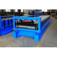 Buy cheap High Efficiency Corrugated Roof Roll Forming Machine With Cr12Mov Cutter from wholesalers