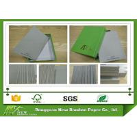 Buy cheap Foldable and anti bending Book Binding Grey Paper Board for hard book cover from wholesalers