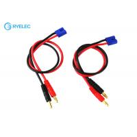 Buy cheap Durable Custom Cable Assemblies EC3 Male To 4mm Banana Charger Splitter Cable from wholesalers