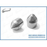 Buy cheap Building Construction Tools Tungsten Carbide Brazed Tips Round Shank Pick Auger Drill from wholesalers