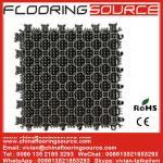 Buy cheap Interlock PVC Tiles Floor Mat PVC Flooring Mat for Entrance or Wet Areas Stop dirt Drain Water Mat from wholesalers